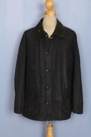 BARBOUR Bedale Waxed Jacket Navy Size 46 XLarge